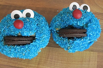 Krümelmonster-Muffins 37
