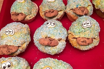 Krümelmonster-Muffins 65