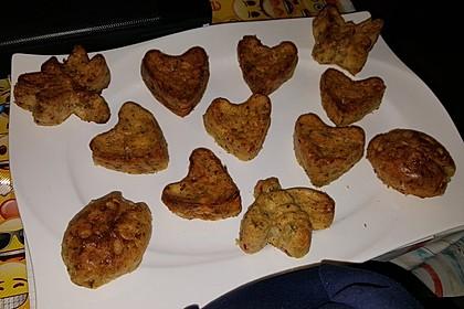 Lauch - Zwiebel - Zucchini - Feta - Knoblauch - Kuchen mit Speckwürfeln 2