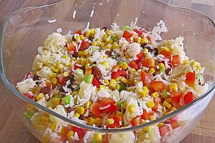 Tropischer Reissalat (Bild)