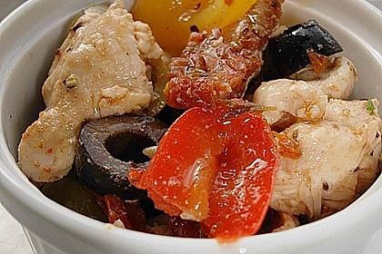 Hühnchensalat Toscana Art (Bild)