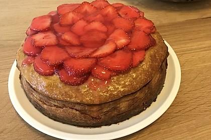 Erdbeer - Käsekuchen (Bild)