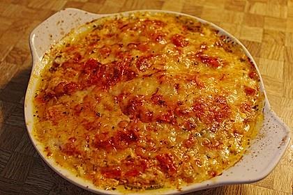Zucchini - Gratin mit Tomaten - Quark - Sauce 1