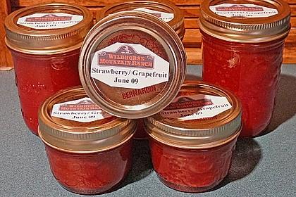 Erdbeer - Grapefruit - Marmelade