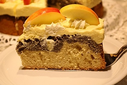 Apfel - Mohn - Torte 1