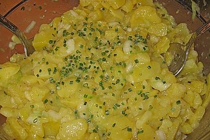 Uschis Kartoffel-Gurkensalat 7