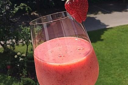 Erdbeersmoothie (Bild)