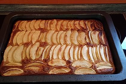 Pflaumenkuchen mit Zimt - Mandel - Streuseln 4