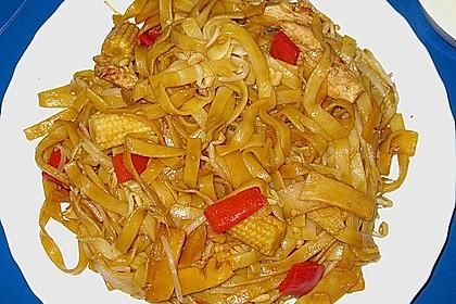 Chinesische Gemüse - Bratnudeln