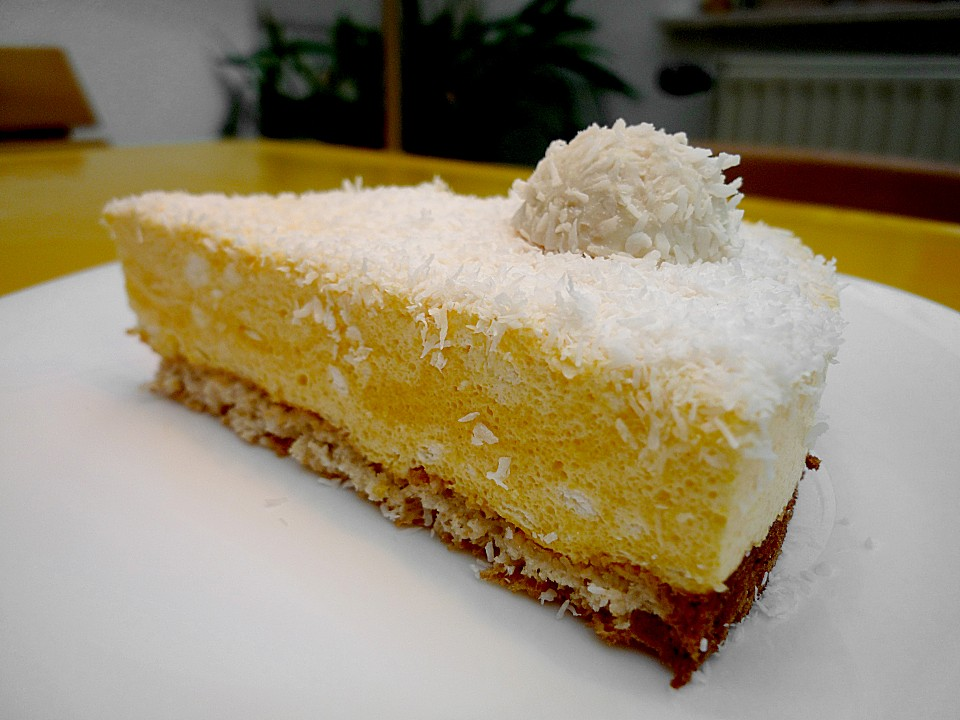 Mango Kokos Biskuittorte Von Mixis Chefkoch De