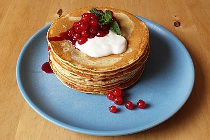 Süße Pfannkuchen vegan