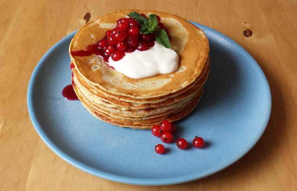 Süße Pfannkuchen Vegan Von Lesanna Chefkochde