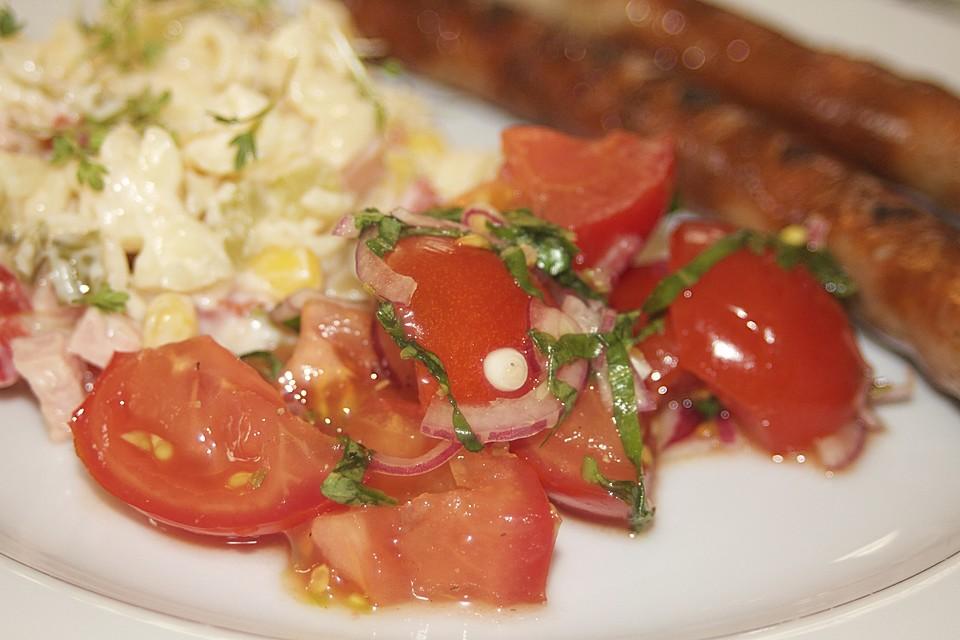 Italienische Sommerküche : Tomatensalat auf italienische art von gs pe chefkoch