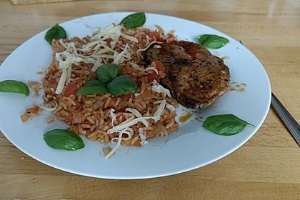 Tomaten-Risotto mit frischen Tomaten 2