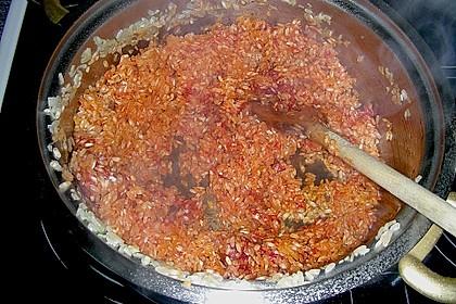 Tomaten-Risotto mit frischen Tomaten 18