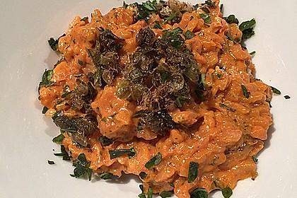 Tomaten-Risotto mit frischen Tomaten 14