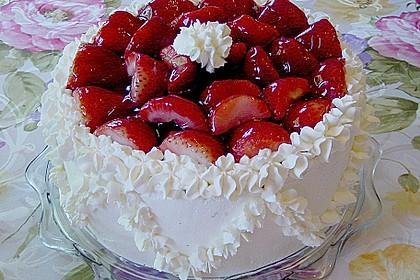 Erdbeer - Eierlikör - Torte 1