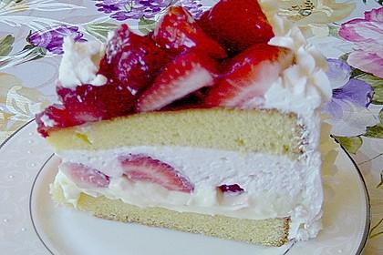 Erdbeer - Eierlikör - Torte 10