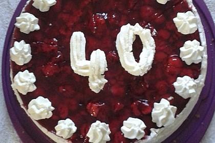 Erdbeer - Eierlikör - Torte 14