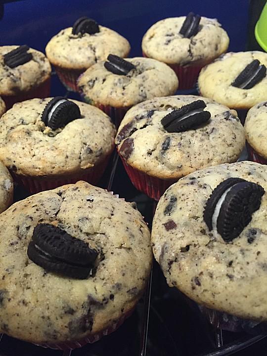Oreo Muffins Von Pinktroublebee Chefkoch De