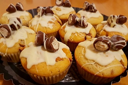 Kinderschokolade Muffins Von Pinktroublebee Chefkoch De