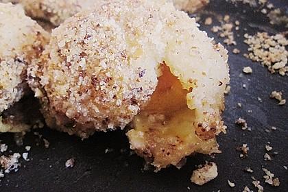 Aprikosenknödel aus Brandteig 5