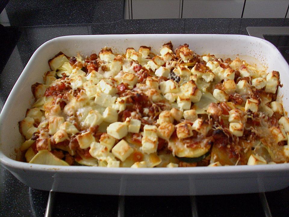 zucchini auflauf mit hackfleisch und kartoffeln