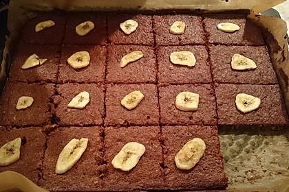 Bananen - Nutella - Brownies 17
