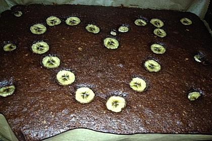 Bananen - Nutella - Brownies 28