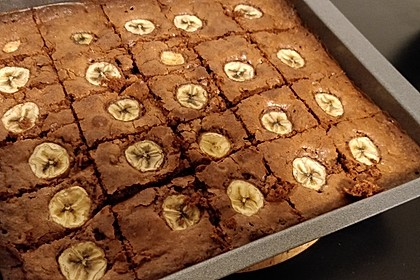 Bananen - Nutella - Brownies 26