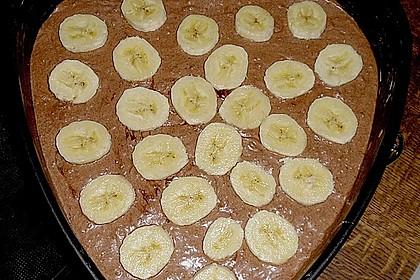 Bananen - Nutella - Brownies 18