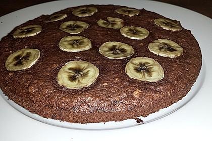 Bananen - Nutella - Brownies 13