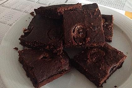 Bananen - Nutella - Brownies 15