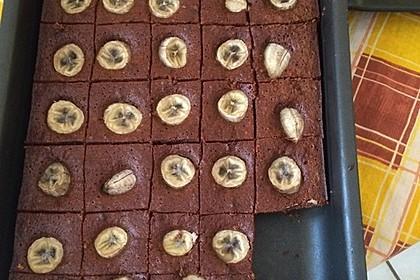 Bananen - Nutella - Brownies 5