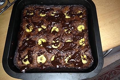 Bananen - Nutella - Brownies 22