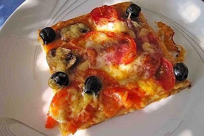 Oliven - Sardellen - Kuchen 1