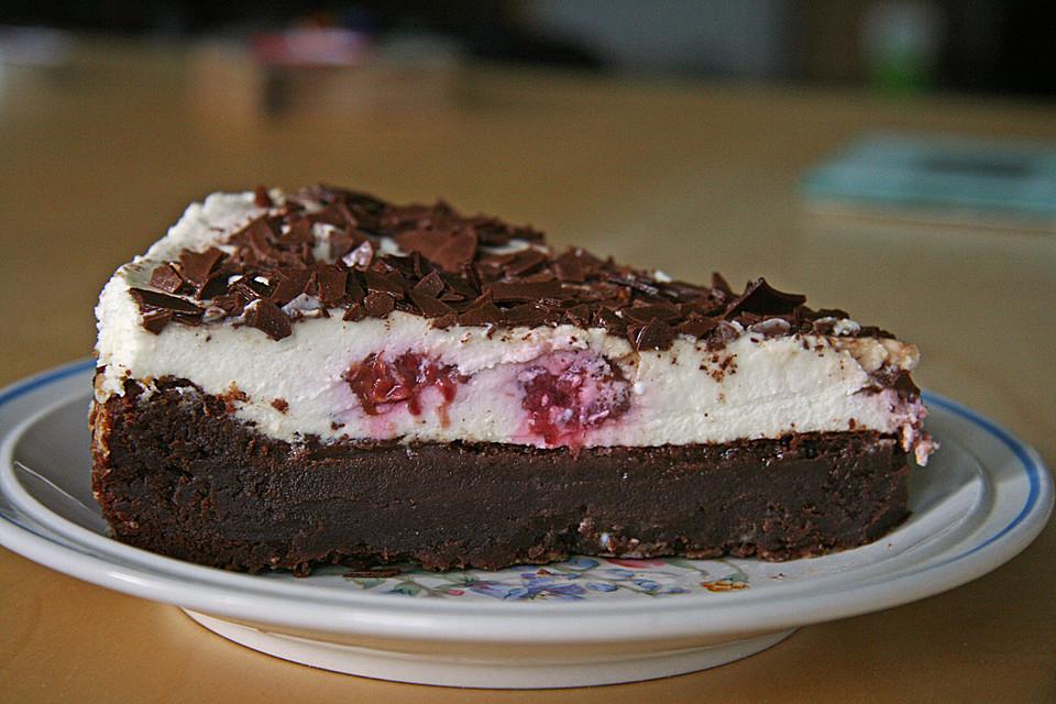 Himbeer Schokoladen Mascarpone Torte Von Schoko Liebchen