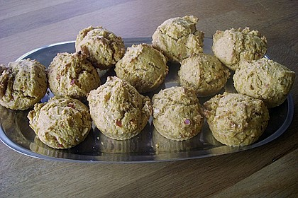 Kichererbsen - Muffins