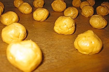 Schoko - Cookies mit Erdnussbutter - Füllung 44