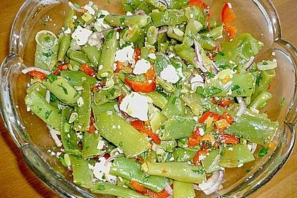 Brillas Bohnensalat mit Schafskäse 2