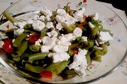 Brillas Bohnensalat mit Schafskäse 3