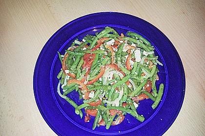 Brillas Bohnensalat mit Schafskäse 4