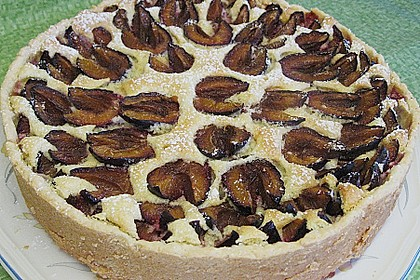 Zwetschgen - Amarettini - Kuchen 18