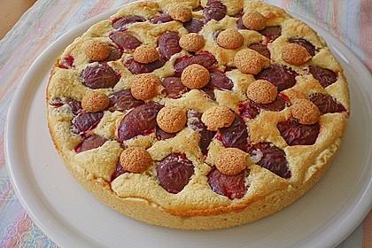 Zwetschgen - Amarettini - Kuchen 14