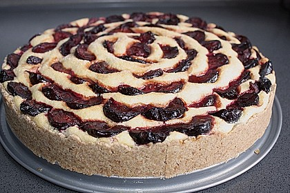 Zwetschgen - Amarettini - Kuchen 5