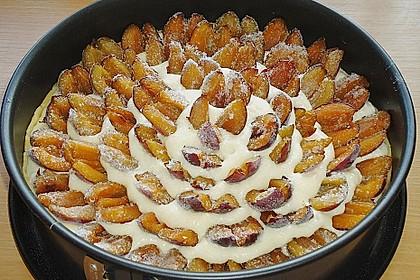 Zwetschgen - Amarettini - Kuchen 24