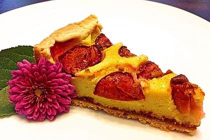 Zwetschgen - Amarettini - Kuchen 12