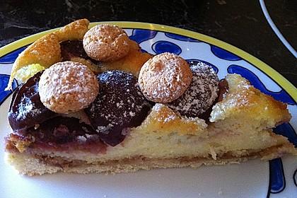 Zwetschgen - Amarettini - Kuchen 9