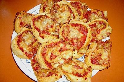 Pizzaschnecken - Snack 4