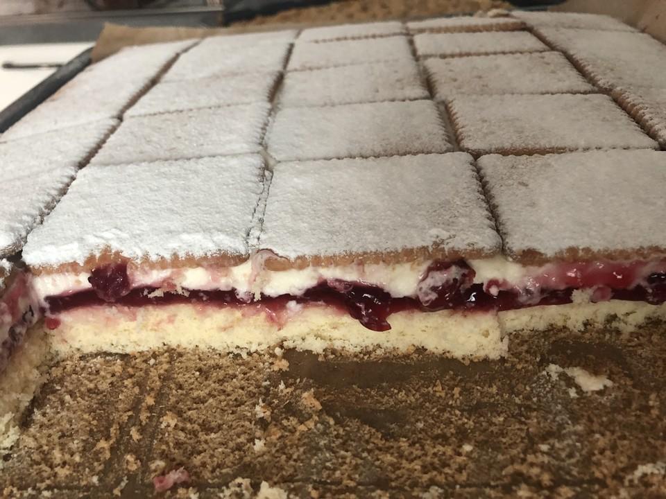 Der Beste Rote Grütze   Kuchen 3